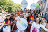 Pictured on the Mamma Mia! Here We Go Again float at this year's Dublin Pride Parade, Saturday June 30th. Picture Andres Poveda