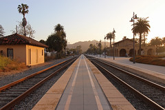 Santa Barbara, CA Train Station (russ david) Tags: santa barbara ca california train station amtrak coast starlight pacific surfliner architecture june 2018