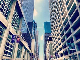 Houston downtown buildings