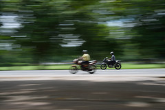 Racing (sanat_das) Tags: 50mm d800 racing motorbikes panned speed indiragandhisarani streetphotography kolkata