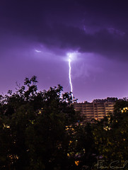 lightstorm above Lausanne City (Florian GIORNAL) Tags: lightstorm above lausanne city lightning storm cloud foudre eclair orage thunder sky skies nature land long exposure