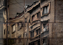 Reflections of Belgrade (Leaning Ladder) Tags: belgrade serbia building architecture reflections windows glass canon 7dmkii leaningladder