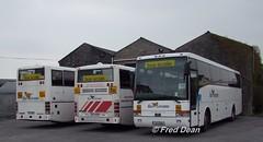 Bus Eireann VP105, VR50 & DVS108. (Fred Dean Jnr) Tags: buseireann ennis clare april2010 volvo plaxton b10m excalibur vp105 01d8051 b7r prima vr50 00d96307 daf vanhool dvs108 01g2584 ennisdepotclare