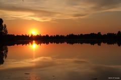 Soleil couchant (jpto_55) Tags: soleil soleilcouchant reflet paysage xe1 fujixf35mmf2 fuji fujifilm hautegaronne france