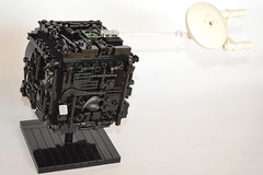 Borg cube (DYFMVWZPYTU2JXX35MRZE6DYZA) Tags: lego startrek borg space