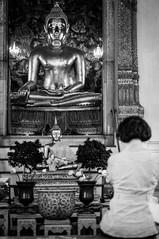 In a temple (maciej_urbanowicz) Tags: bangkok krungthepmahanakhon thailand th temple travel travelphotography travelphoto streetphotography streetphoto nikon d5000 35mmdx