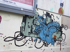 Paris, Retro (Zerbi Hancok) Tags: france paris street walls murs graff graffiti