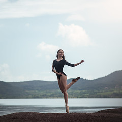 (dimitryroulland) Tags: nikon d600 85mm 18 dimitryroulland natural light lake sapajou dance dancer ballet ballerina pointe sport fit performer art artist
