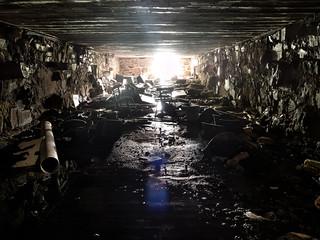 Mental hospital: basement