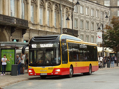 "MAN NL253 Lion`s City Hybrid, #9533, ""Mobilis"" Mościska dept Warsaw (transport131) Tags: bus autobus man nl253 lions city hybrid mobilis mościska ztm warszawa wtp"