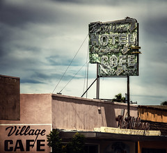 village cafe, old town barstow (jody9) Tags: barstow california vintage signage sign
