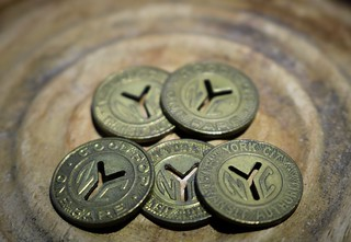 NYC Subway Tokens