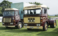 J Rowley & Sons ERF,s (wheelsnwings2007/Mike) Tags: jrowleysonserf s north rode vintage rally cheshire 2018