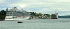 18 06 20 BF Connemara departing Ringaskiddy (45) (pghcork) Tags: brittanyferries connemara ferry carferry cork corkharbour cobh ringaskiddy 2018 ireland ships shipping ship