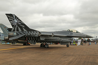FA-70 General Dynamics F-16AM Fighting Falcon Belgian Air Force Special Colours RAF Fairford RIAT 16th July 2017