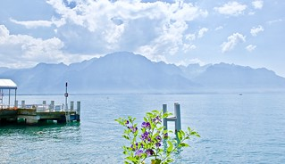 Lovely sunny day in Montreux