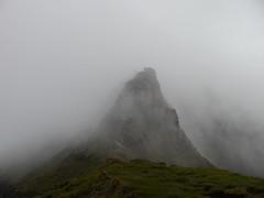 The traverse of the Rum Cuillin: the Askival pinnacle (Mumbles Head) Tags: scotland mountains highlands rum rhum isleofrum cuillin rumcuillin corbetts grahams landscape