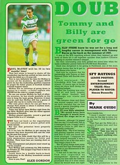 Scottish Football Today - August 1994 - Page 8 (The Sky Strikers) Tags: scottish football today magazine august 1994 one pound fifty theo snelders