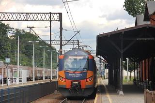 PR EN57AL-2115 , Międzylesie train station 09.07.2018