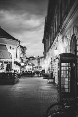 Rediscover Szeged (mripp) Tags: art vintage retro old street rediscover szeged black white mono monochrom evening sony alpha 7rii voigtländer nokton 40mm f12