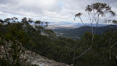 View fro Mt Piddington (spelio) Tags: mt victoria nsw blue mountains australia winter bushwalk hike