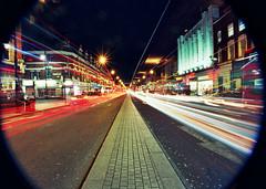 Brixton (AJ_UK) Tags: 35mm film ektar dxonfilm brixton london londonnight londonroad lighttrail