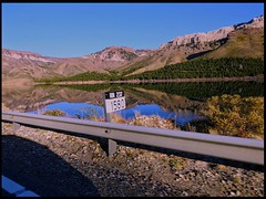 On the road - DSCN3327 (marialuz_fernandez) Tags: bariloche patagonia argentina lake lago mountain montaña ruta road
