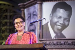 Celebrating Nelson Mandela: His Letters, His Legacy (englishpen) Tags: penmandelaletters mandela100 bethelegacy nelsonmandela mandela unionchapel freespeech kwamekweiarmah jackiekay garyyounge zoewicomb jaybernard errollynwallen sahmventer zamaswazidlaminimandela englishpen georgetorode