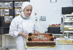 Each cake is a work of art (copyright European Union 2018) Tags: azerbaijan baku ganja sumgait khirdalan eu ebrd adviceforsmallbusinesses advisory consultancy project sme cake sweets iso22000 standards foodsafety shop store dessert factory production