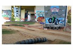 LESGEANTSDANDERLECHT # 2 (bruXella & bruXellus) Tags: mural graffiti urbanart lesgéantsdanderlecht anderlecht karting brussels brussel belgien belgique belgium belgië leicadlux3