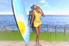 A Sunny Yellow Day (SherriOhCherri) Tags: twe12ve sweetevil zibska charme mandala breathe puppetmaster catwa maitreya secondlifeevent secondlifeshopping secondlifeblog