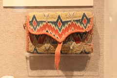 Wool Crewelwork Pocketbook, 1752 (Itinerant Wanderer) Tags: pennsylvania chestercounty longwoodgardens