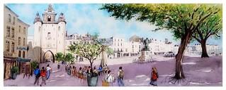 La Rochelle - Poitou Charente- France - quai Duperré