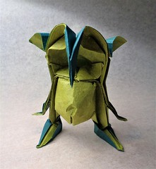Goblin (mrmicawer) Tags: origami papiroflexia papel goblin duende irlanda