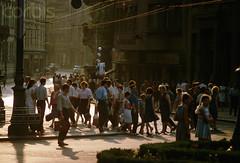 DC005984 (olegczugujewets) Tags: crowd easterneurope europe everydayscene group groupofpeople largegroupofpeople lviv lvivoblast many pedestrian people sovietunion transportation ukraine walking