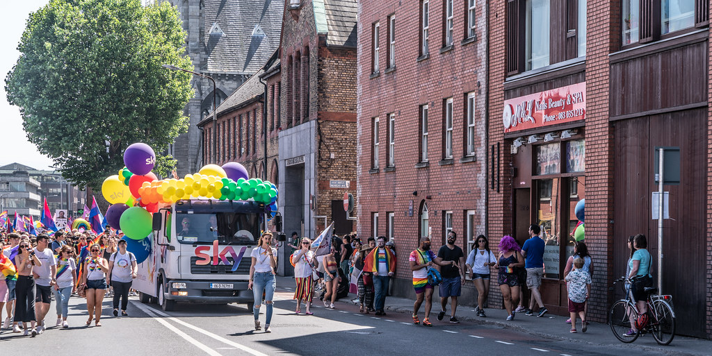 ABOUT SIXTY THOUSAND TOOK PART IN THE DUBLIN LGBTI+ PARADE TODAY[ SATURDAY 30 JUNE 2018]-141772