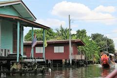 Bangkok: Modern housing (Ali Bentley) Tags: bangkok thailand southeastasia khlong klong house housing