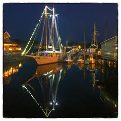 Spirit of Massachusetts (Timothy Valentine) Tags: 2018 night clichésaturday 0718 boat vacation kennebunkport maine unitedstates us