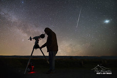 'The Astronomer' (macdad1948) Tags: night milkyway postbridge astrophotography astro devon telescope exmoor tracker dartmoor stars nationalpark molland atronomer