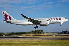 Qatar Airways Cargo A330-243(F) A7-AFZ (wapo84) Tags: eblg lgg a330 a7afz qatarairways cargo