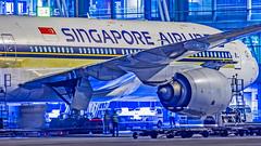 Singapore Airlines Boeing B777-200ER 9V-SQN Bangalore (BLR/VOBL) (Aiel) Tags: singapore singaporeairlines boeing b777 b777200er 9vsqn bangalore bengaluru canon60d tamron70300vc