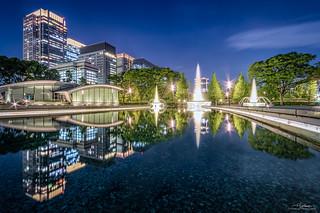 Oasis in Concrete Jungle, Tokyo Marunouchi