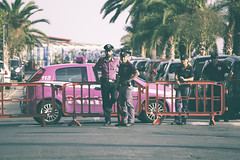 Ventimiglia città aperta corteo 14 Luglio 2018-40 (Brother's Art) Tags: arte effettifotografici luogoviaggi cromatico sbirri ventimiglia liguria italia it pink police shit fake stupid