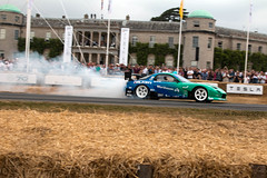 Mazda RX7 Drift Car ({House} Photography) Tags: fos festival speed 2018 25th anniversary car automotive race racing motor sport motorsport panning canon 70d 24105 f4 housephotography timothyhouse mazda rx7 drift james deane smoke formula falken