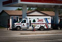 Needing Gasoline (HTT) (13skies) Tags: gas fill fillitup need runs fuel truck services wheels business truckthursday signs stopping gasstation money htt daylight day summer