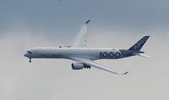 D18947.  Airbus A350-1000 XWB. (Ron Fisher) Tags: aircraft airliner airbus airbusa3501000xwb farnboroughairshow aeroplane airshow