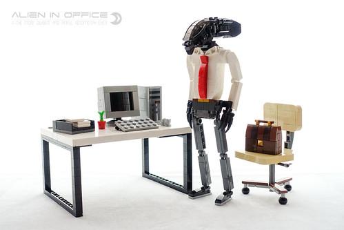 Alien in Office