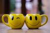 Smiles Again (ii) (BGDL) Tags: lightroomcc nikond7000 nikkor50mm118g bgdl niftyfifty kitchen coffeetime smileymugs