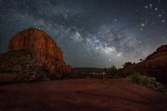Sedona-5206-Edit (Michael-Wilson) Tags: sedona arizona night stars milkyway michaelwilson longexposure redrocks southwest dark