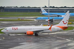 TUI Airlines Netherlands C-GOWG Boeing 737-86J Winglets cn/37757-3377 leased from Sunwing Airlines  4/2017 - 10/2017 @ EHAM / AMS 09-09-2017 (Nabil Molinari Photography) Tags: tui airlines netherlands cgowg boeing 73786j winglets cn377573377 leased from sunwing 42017 102017 eham ams 09092017